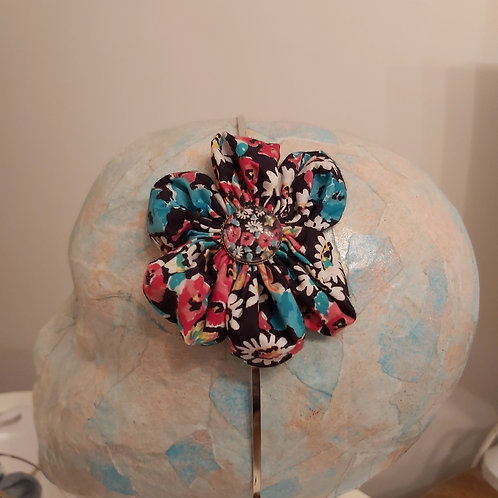 Mixed Floral Fabric Hairband