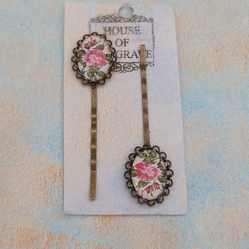 Briar Rose Bobby pins (2)