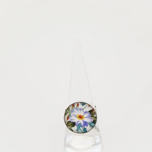 Briar Rose Lilac Round Ring