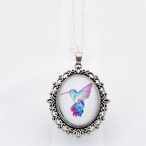 Hummingbird Ornate Necklace