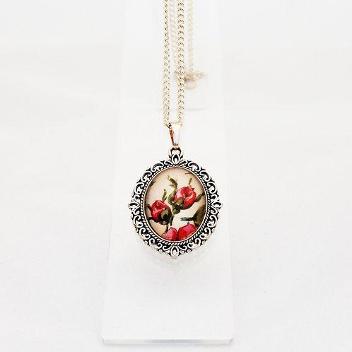 Rosebud Mini Ornate Necklace