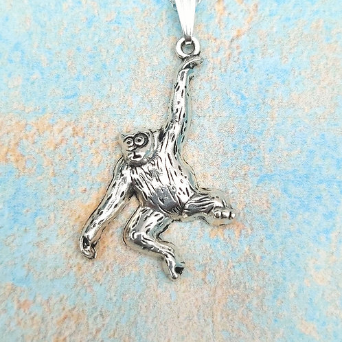 Swinging Monkey necklace