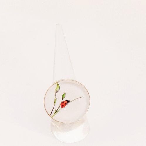 Ladybird Round Ring