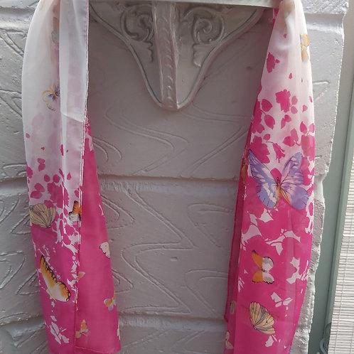Butterfly Chiffon scarf