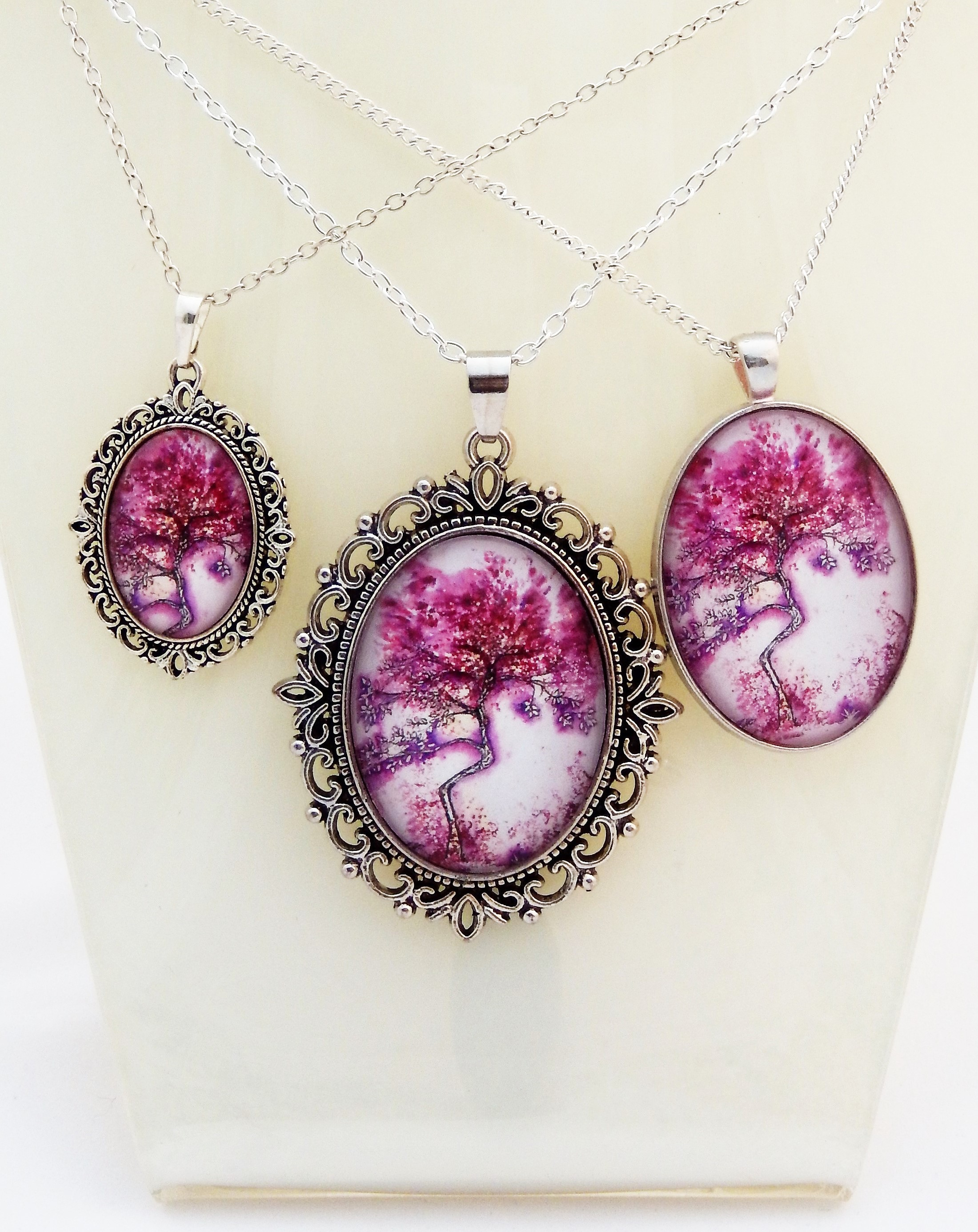 Purple Willow Pendant Collection
