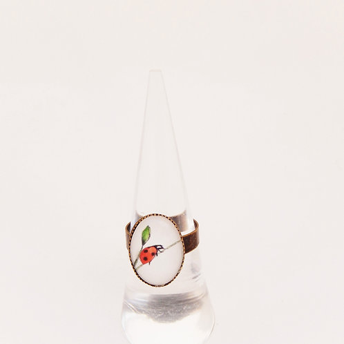 Ladybird Mini Ring