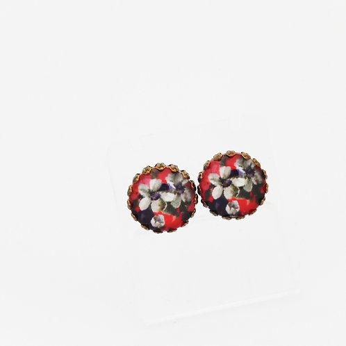 Autumn Florals Stud Earrings