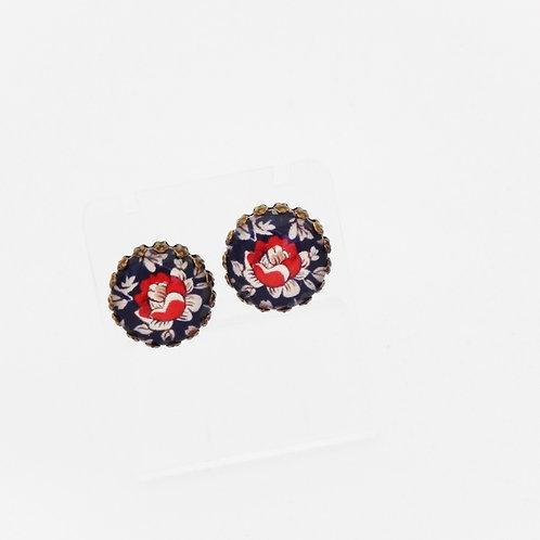 Royal Ornate Stud Earrings