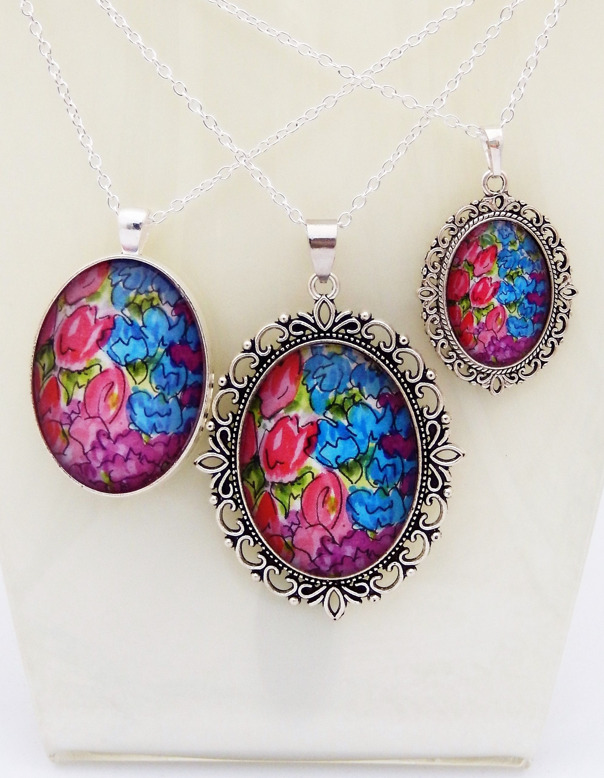 Countryside Florals Pendant Trio
