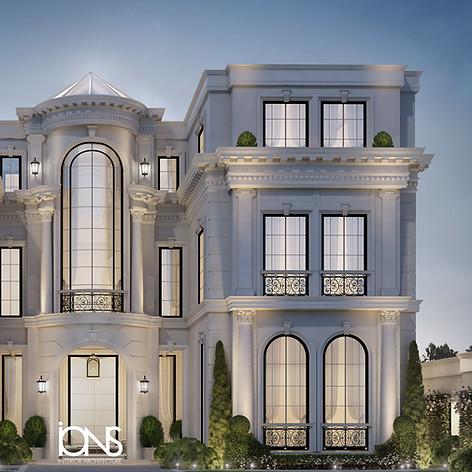 Abu Dhabi villa Architecture design