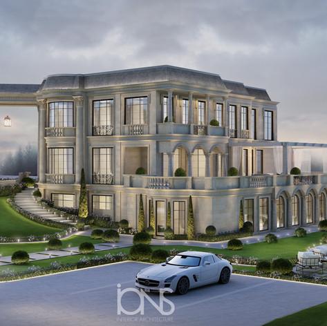 Exterior Architecture Design , Qatar Villa