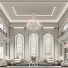Sitting Room in Classical Interior