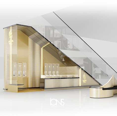 Perfume Kiosk design - Dubai Expo2020