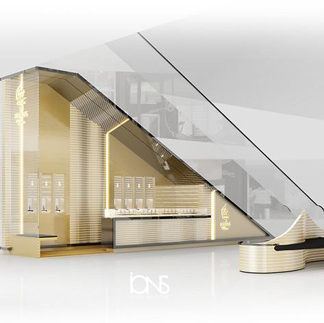 Retail interior design - Kiosk Dubai