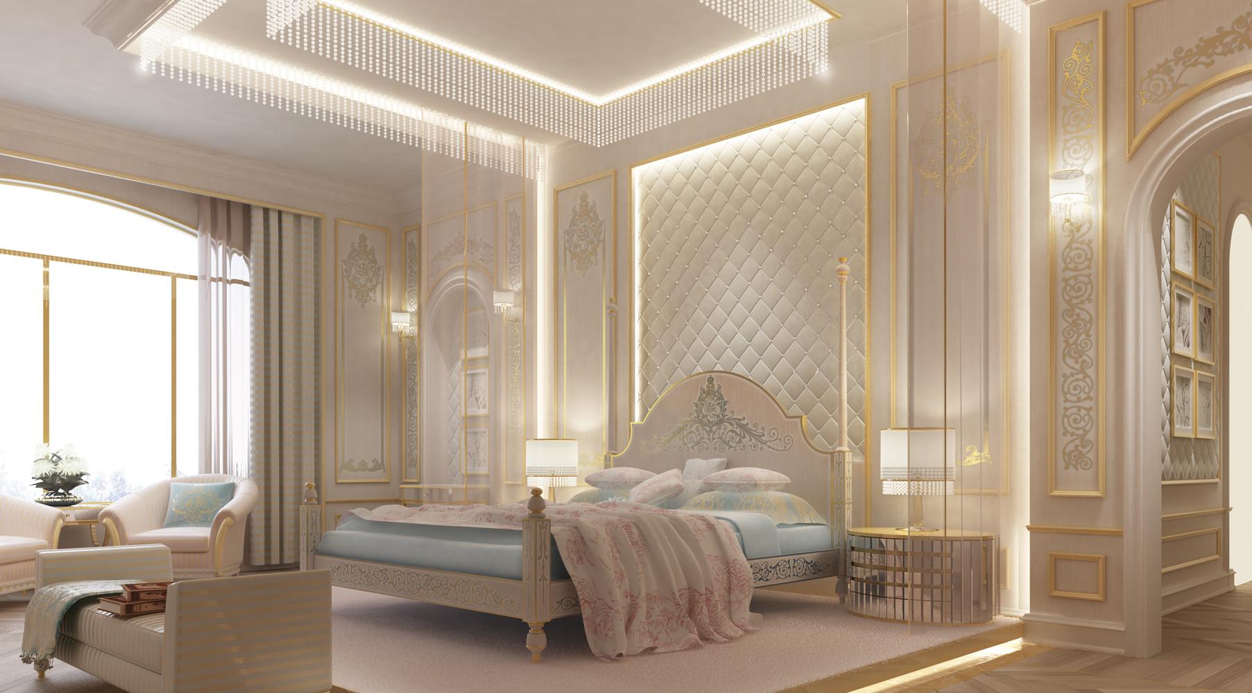 Bedroom Design - Abu Dhabi - UAE