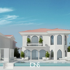 Modern Architecture Design .Dubai Villa