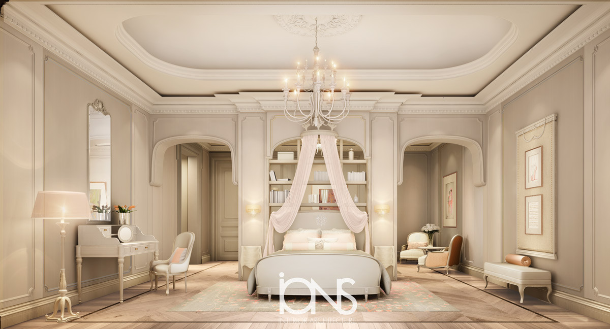 Girl Modern bedroom Designing
