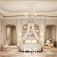 Girl Bedroom Interior design Doha