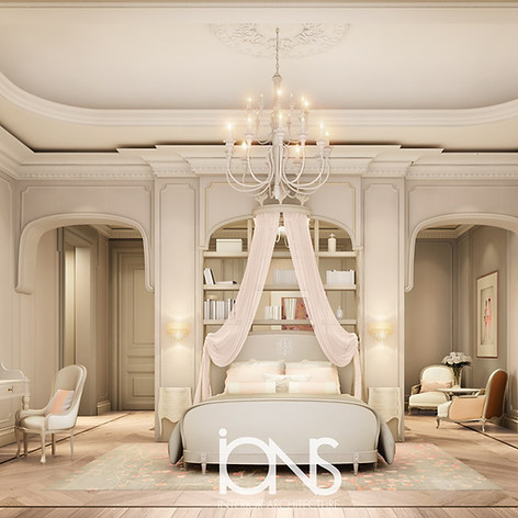 Girl Bedroom Interior design Doha
