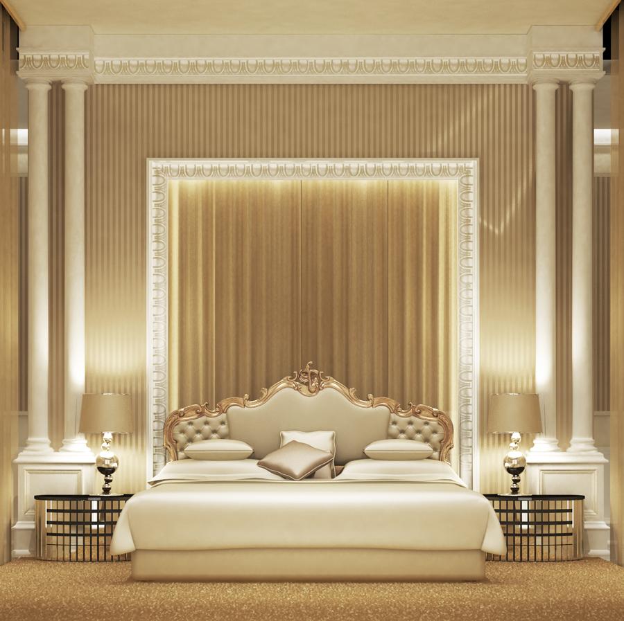 Royal Themed Bedroom Design