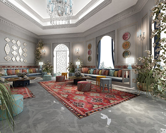 Arabic Majlis Interior Design Decor Mesmerizing Ions  Luxury Interior Design Dubai  Interior Design Company In Uae Decorating Inspiration