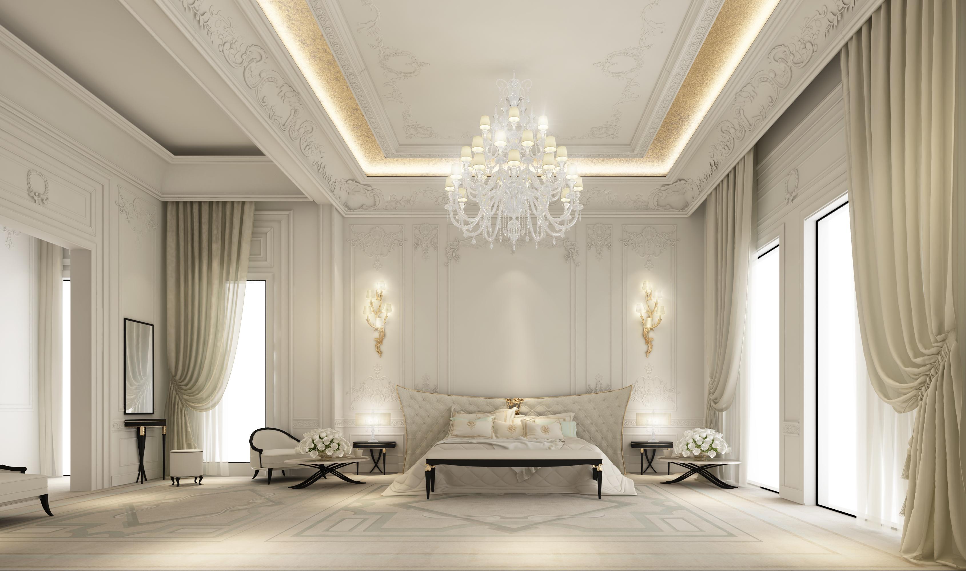 Luxury Bedroom  Interior Designing