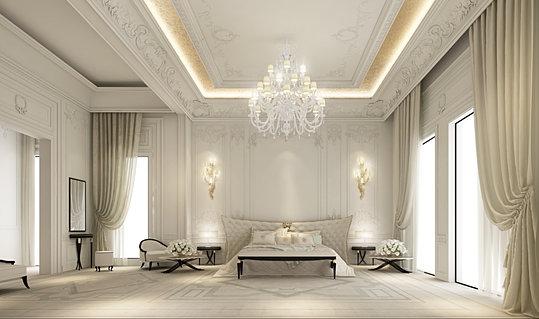 Nice Master Bedroom Design  Dubai UAE