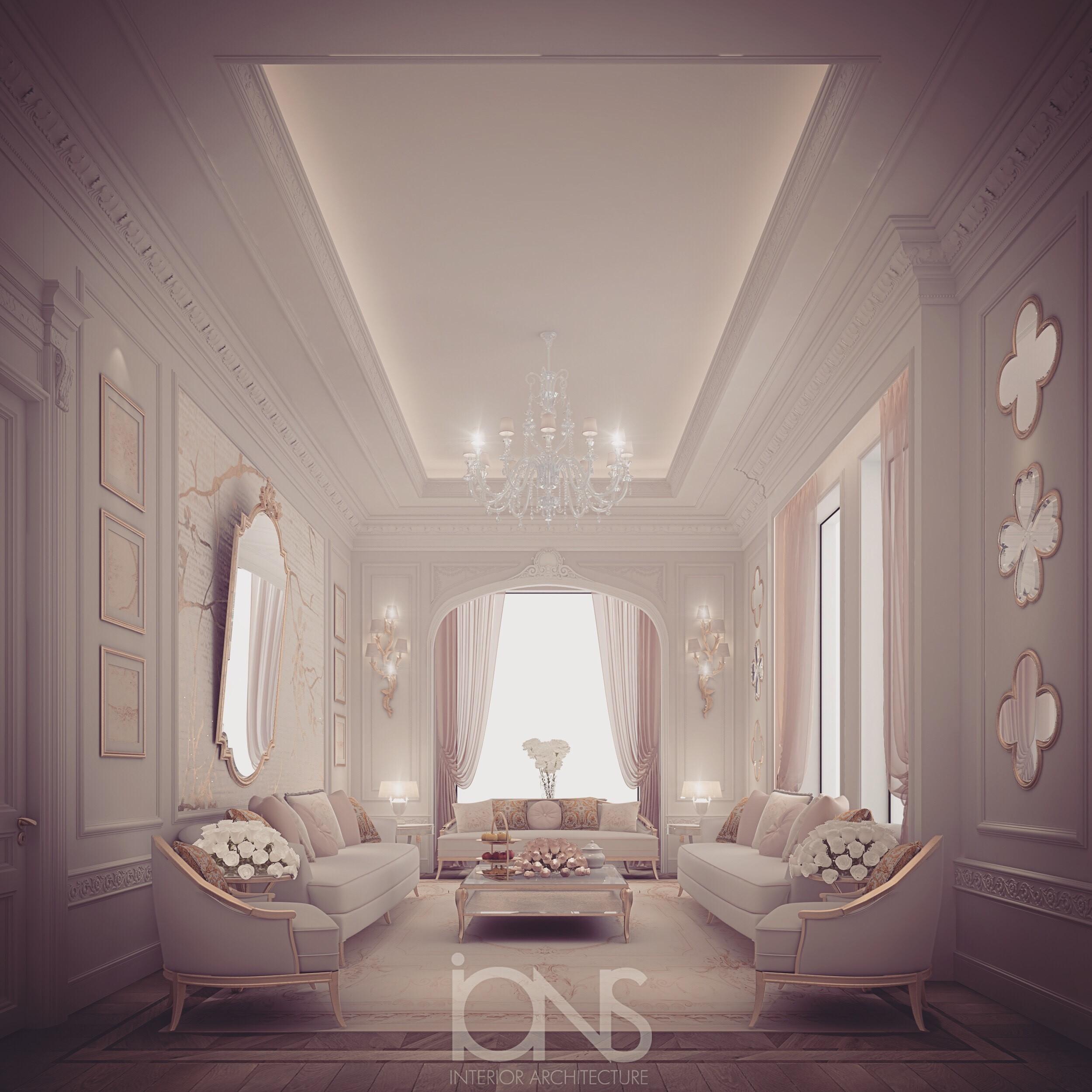 Ladies Majlis Interior Designing