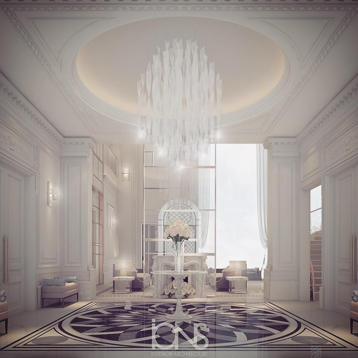 French Style Villa Design Ideas