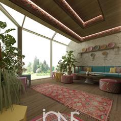 Arabic moroccan Majlis interior design