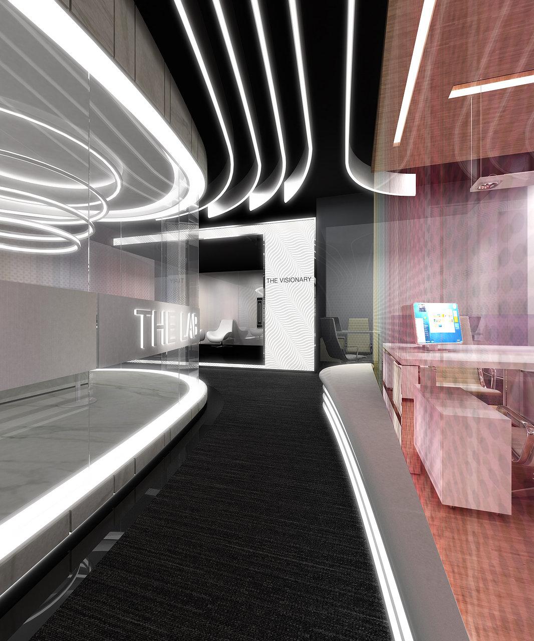 MHG Lobby Area Interior Design