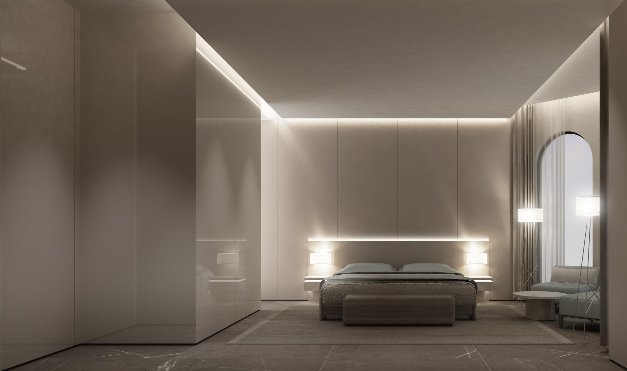 Chic Bedroom Interior Design