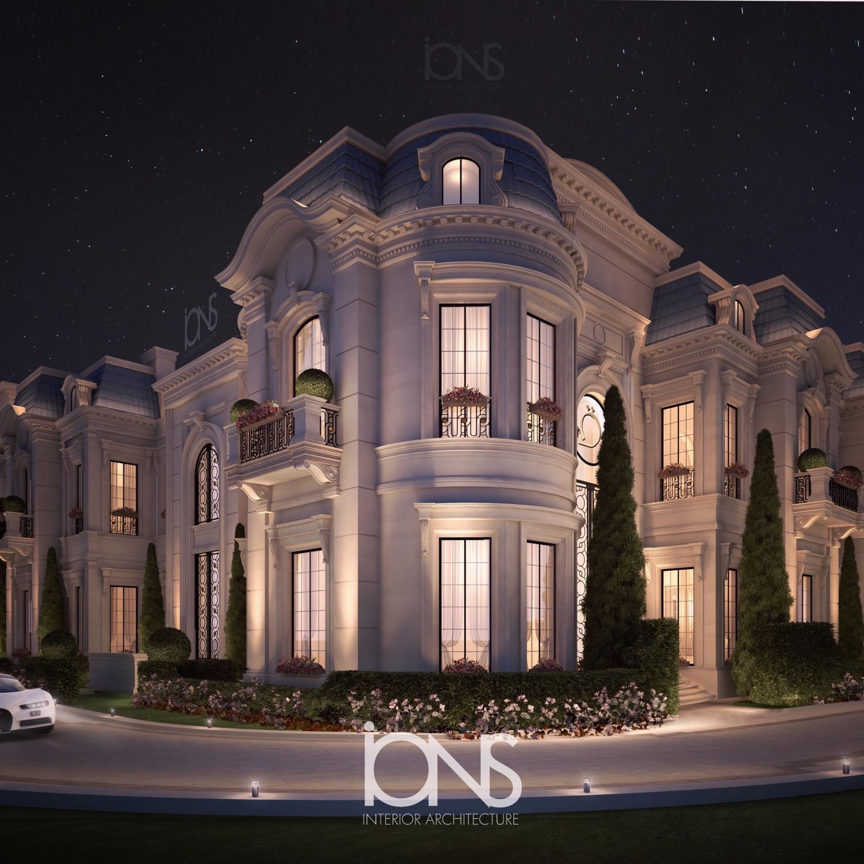Palazzo Style Villa Design