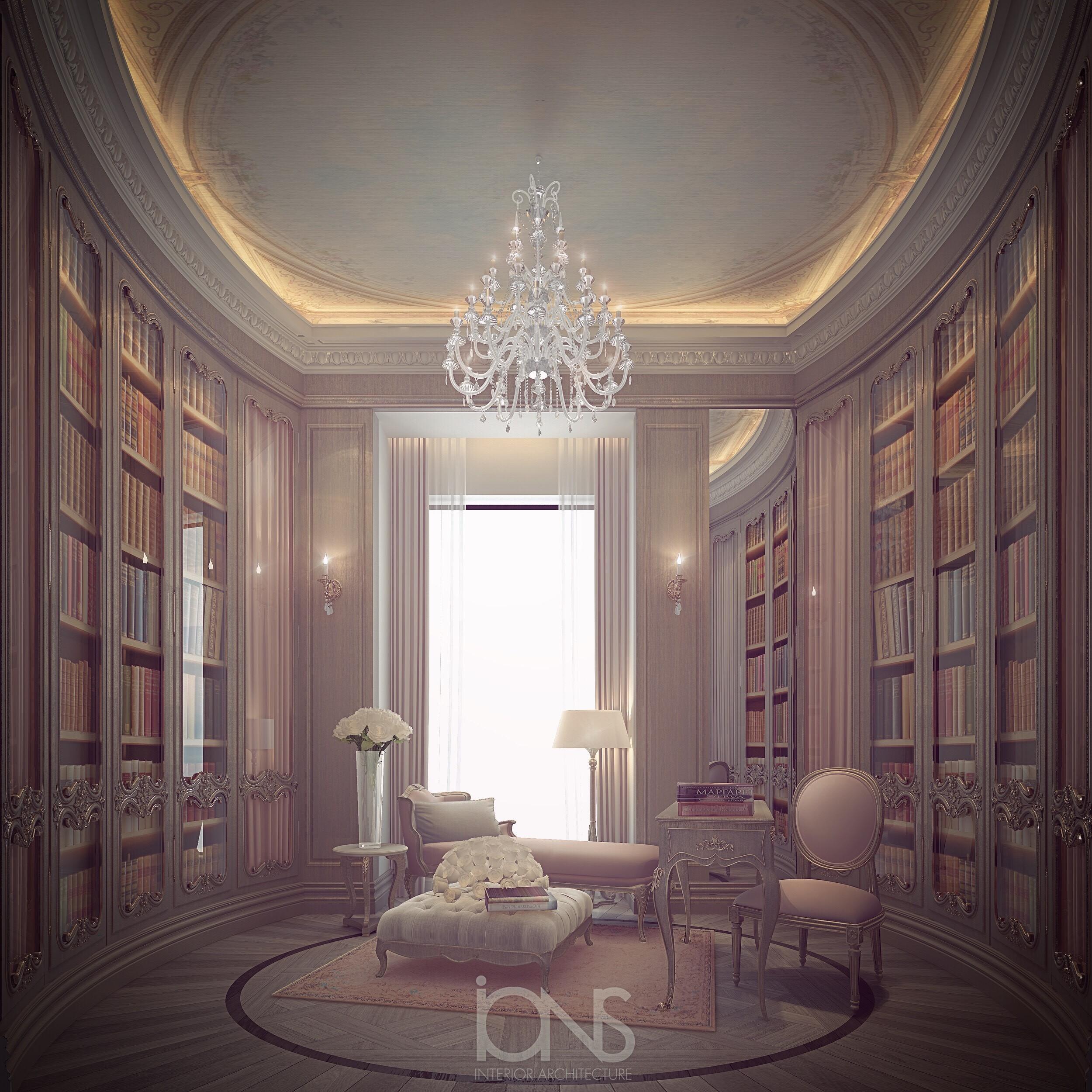 Library -  Home Interior Design