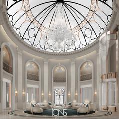 Doha Palace Grand Lounge Interior