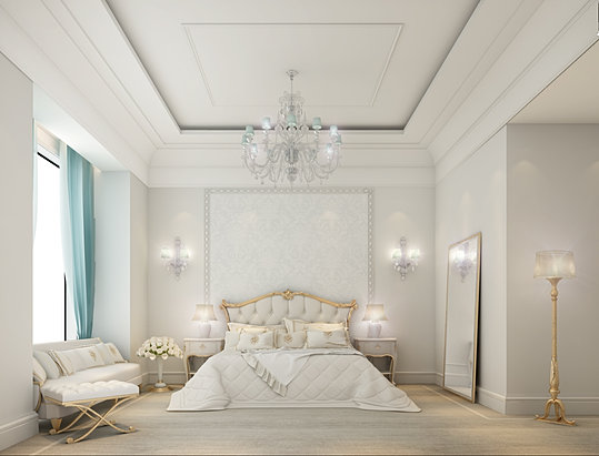 Bedroom Design Qatar Villa