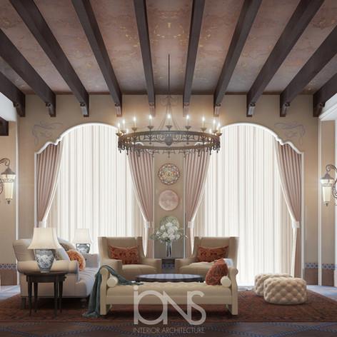 Arabic majlis design - Qatar palace