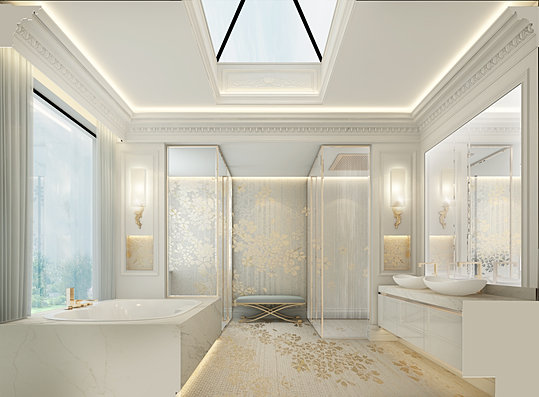 Ions luxury interior design dubai interior design for Bathroom interior design dubai