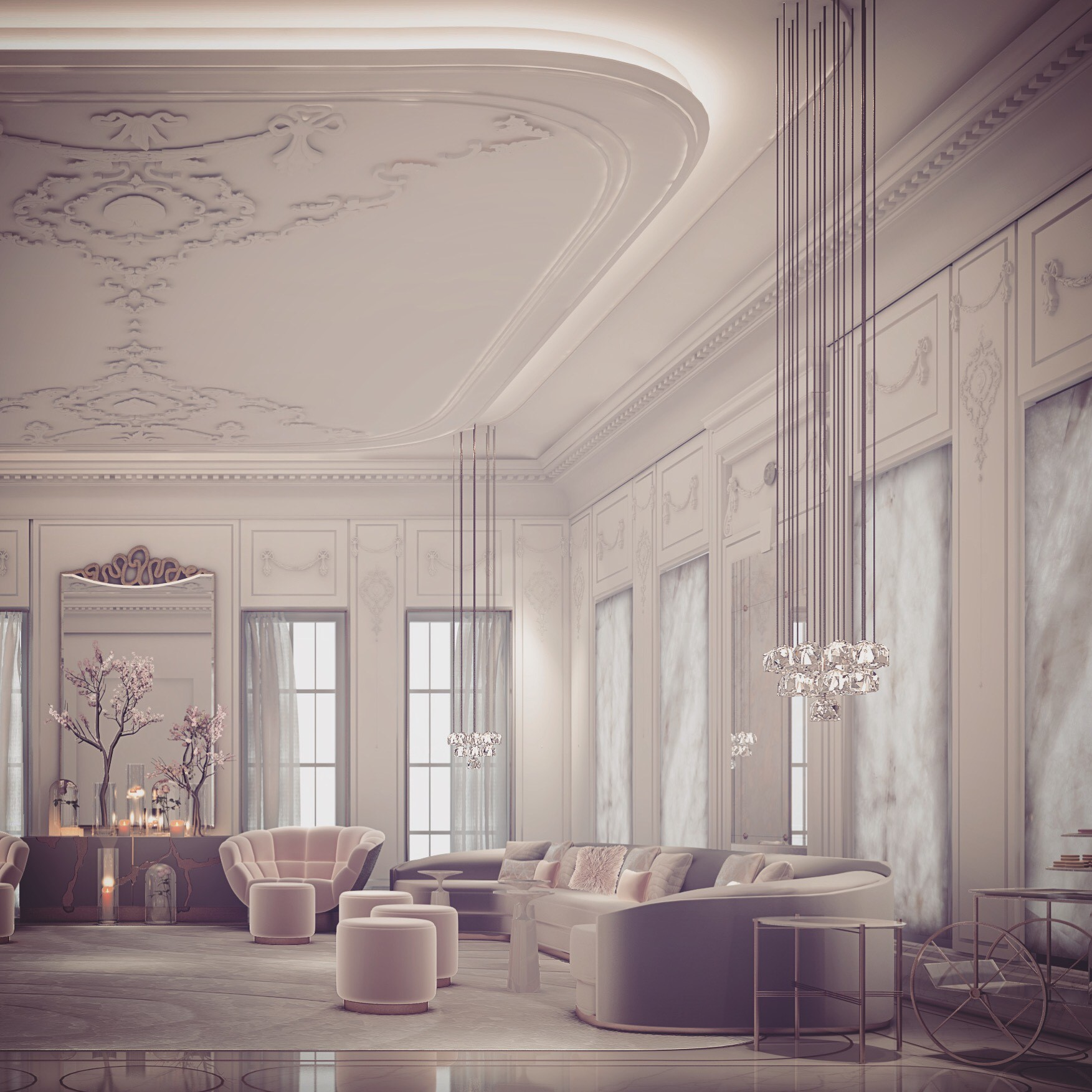 French Style Interior Decoration