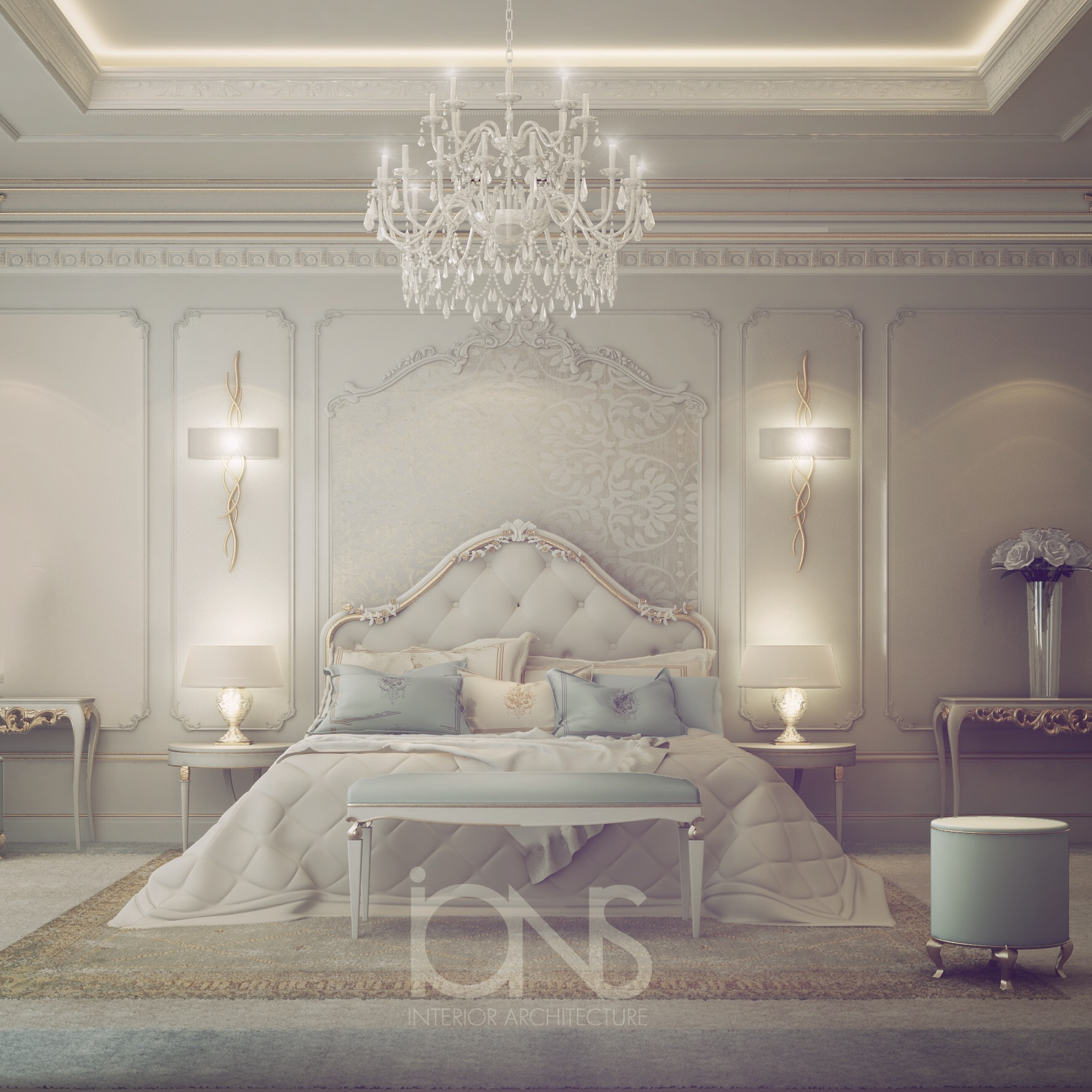 Princess Themed Bedroom Interior