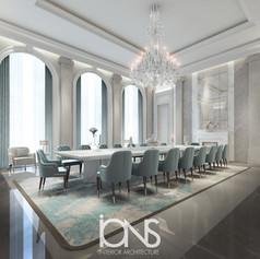 Qatar-Royal-Palace-Dining-Room-interior-