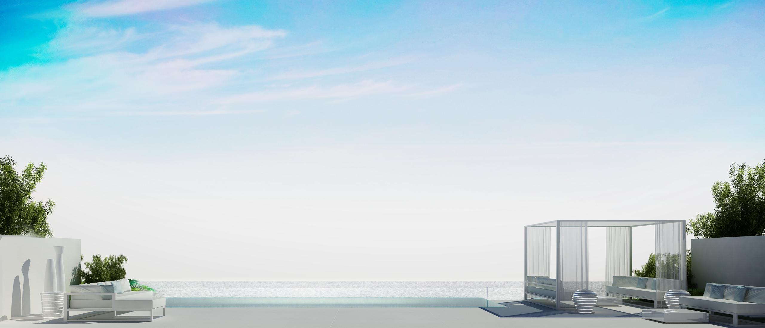 Villa Design with Infinity Pool