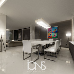 Modern-villa-design-palm-dubai-dining-in