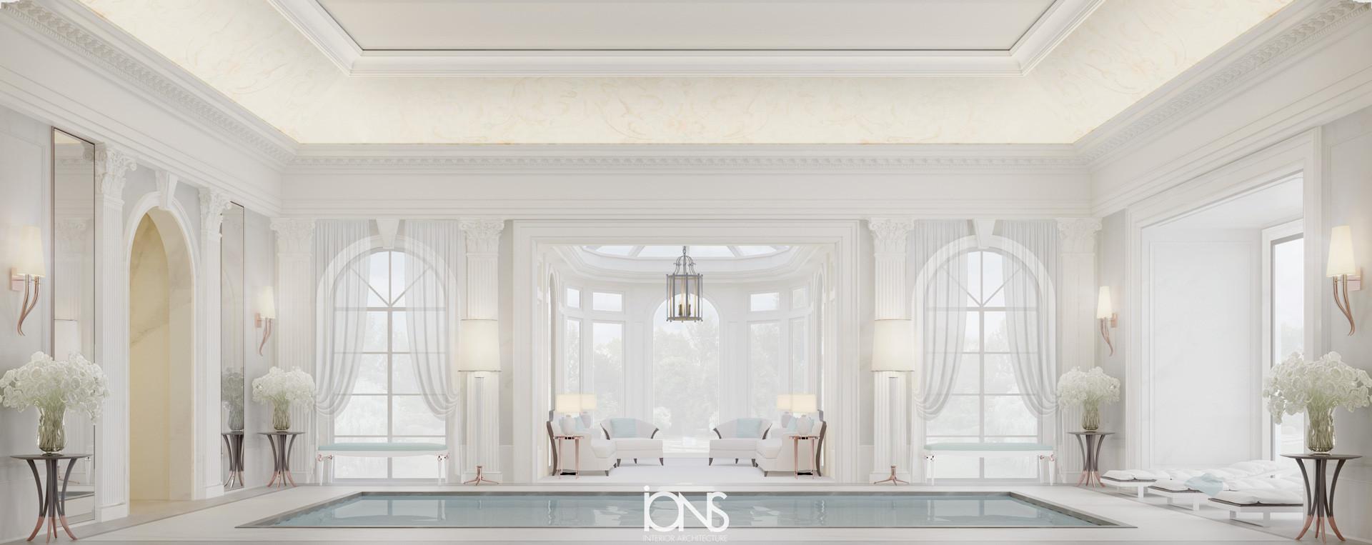 Best swiming pool interior design Dubai villa