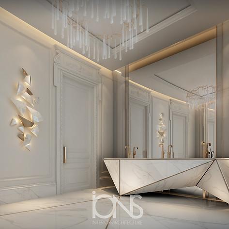 Luxurious Mansion Bathroom