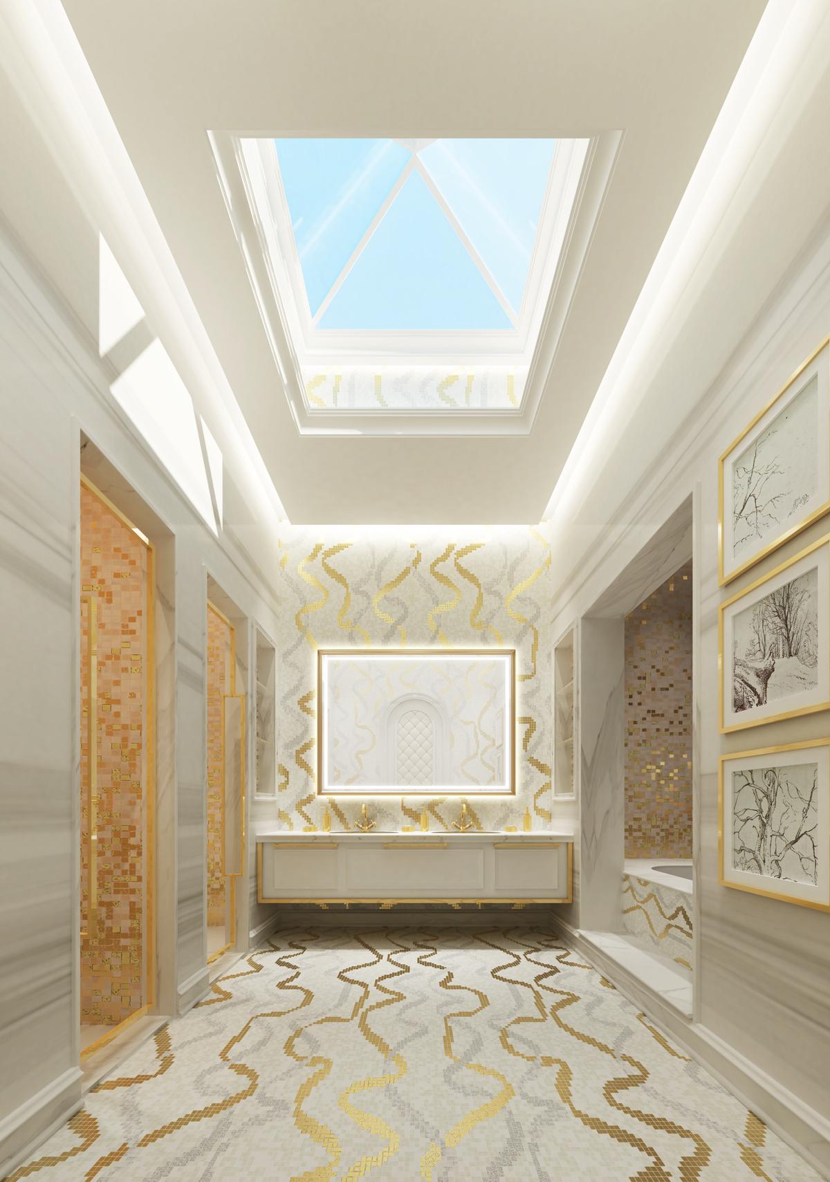Bathroom Ideas for Villa Design