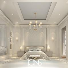 Bedroom Design in Luxury Villa