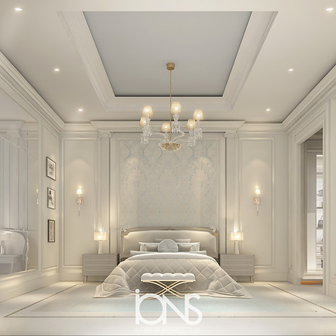 Bedroom Design in Luxury Villa