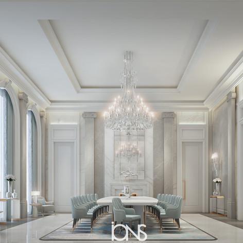 Qatar Royal Palace Dining Interior