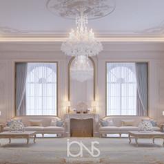 Majlis interior design Abu Dhabi Villa